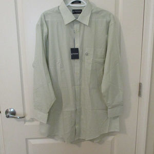 Stafford NWT Mens Dress Shirt Size 17 Fitted